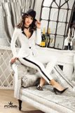 Dámske biele sako Foggi Elegant