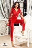 Dámsky overal Foggi RED Elegant