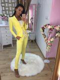 Dámske žlté nohavice Foggi OFFICE