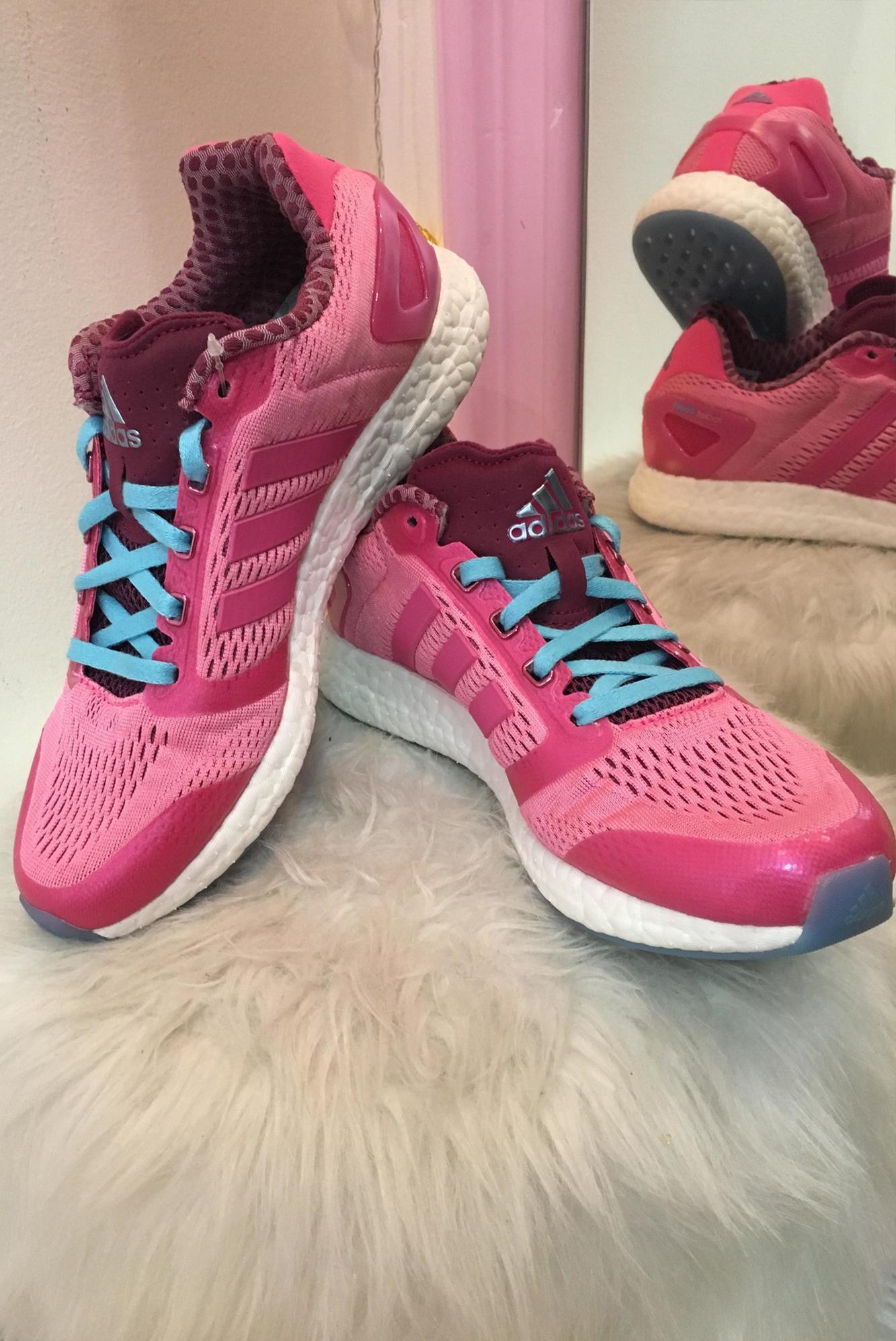 Dámske ružové tenisky ADIDAS - 38