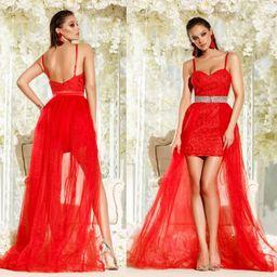Dámske červené čipkované šaty Foggi SUMMER KISS