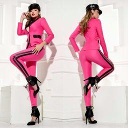 Dámske ružové nohavice Foggi OFFICE